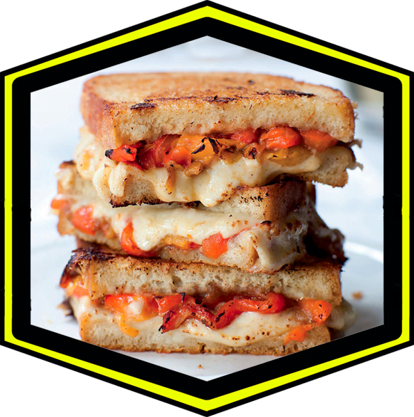 Grilled cheese JetLagFood
