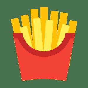 Frites fraîches minute de JetLag Food